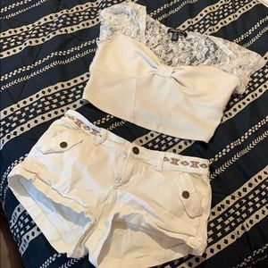 2/$20!! CUTE ALL WHITE SUMMER OUTFIT 🤍🤍🤍🤍